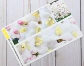 Vibernum blossom planner stickers | white blossom photo stickers | full box planner stickers |  | vinyl matte stickers | spring flowers