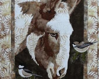 Toni Whitney Design Matilda Donkey Applique Quilt Pattern