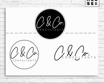 Logo/ Business Branding/ Branding/ Premade Logo/ Business Logo/ Photography Logo/ Watercolor Logo/ Wedding Logo/ Watermark/ 140B