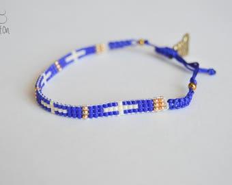 Miyuki Bracelet -- One of a Kind