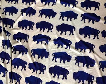 Blue Buffalo custom Jersey fabric 2 yards 16 inches full peice