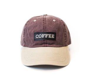 COFFEE baseball cap