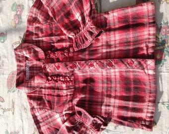 New Scottish wool western shirt