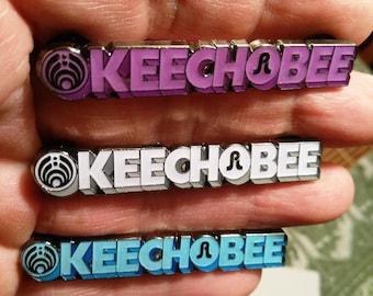 Okeechobee 2017 - Bassnectar Pretty Lights - Rare - Hatpin