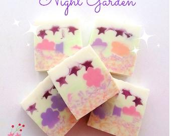 Midnight Jasmine and Tuberose decorative  soap bars,
