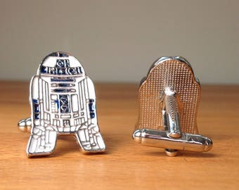 Star Wars R2-D2 cufflinks