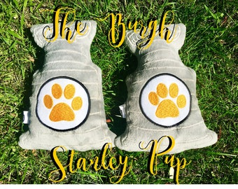 Pittsburgh Stanley Pup dog toy (Stanley Cup inspired)