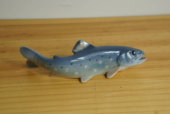 Bing & Grondahl 2169 Trout Figurine Designed Svend Jespersen 6.25 inches