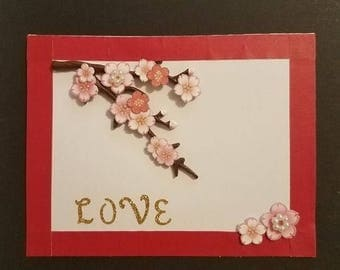 Relationship Card: Cherry Blossom Love