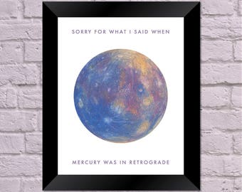 Mercury in Retrograde Printable