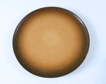 One Heath Ceramics Dinner Plate - Coupe Line with Sea and Sand Glaze