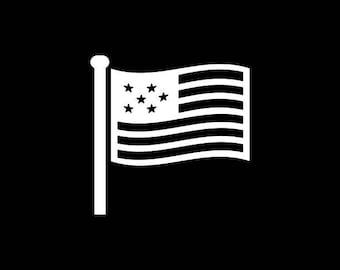 American Flag Decal,USA Decal, American Car Decals, USA, United States of America, USA Car Decal,America Vinyl Decal
