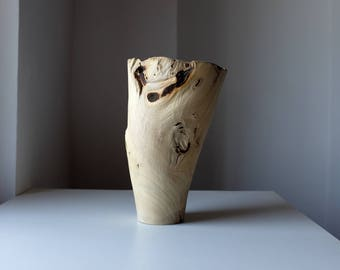 Wooden Vase, Large Vase, Hand turned Vase, Artistic Vase, Wood turning, One of a Kind Vase, Wood Vase, Home Decor, Office Decor,Wedding Gift