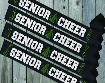 BLACK SASH Senior Cheer