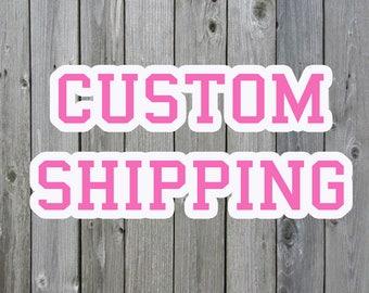 Add On Custom Name FIVE DOLLARS