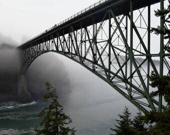 Deception Pass bridge photo