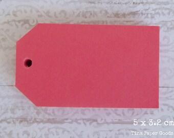 25 FUCHSIA Tags 5x3.2 cm