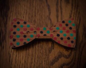 RBG Polka Dot Bow Tie
