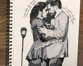 Finding Neverland Broadway Drawing