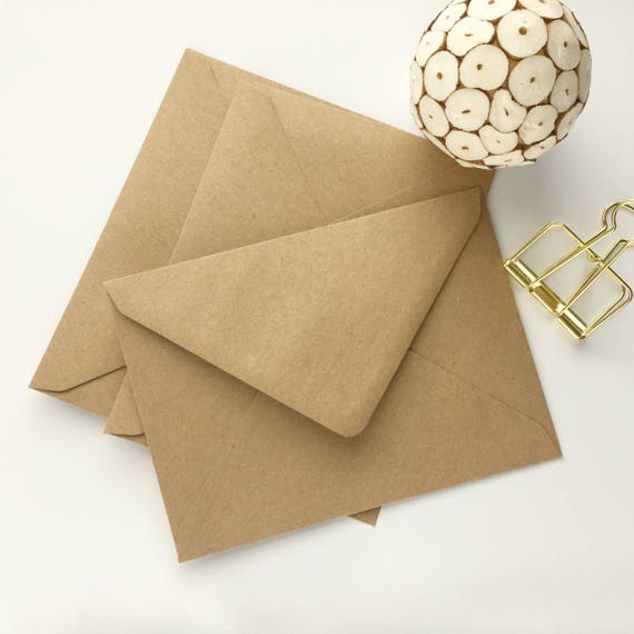 4x6 kraft envelopes