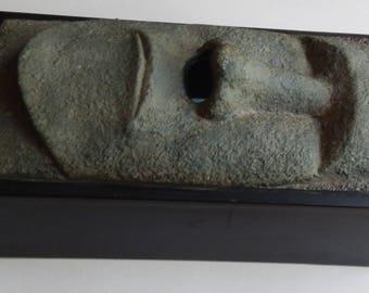 Very Cool Vintage Tiki Man Tissue Box!