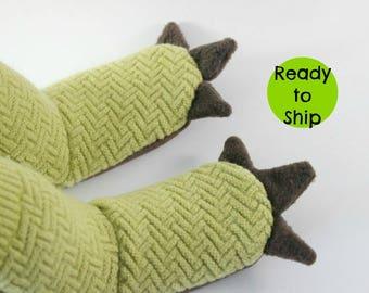 Dinosaur Slippers- Kids Dinosaur- Kids Dragon- Kids Monster- Dragon Gift- Dinosaur Gift- Kids Slippers- Little Kid Gift- Toddler Slippers