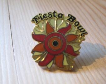 Vintage Fiesta Bowl College Football NCAA Lapel/ Hat Pin