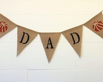 Father's Day Banner,Father's Day Burlap Banner,Dad Burlap Banner,Father's Day Garland/Bunting,Father's Day Photo Prop.Father's Day Decor