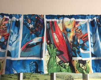 Avengers Valance ~ 80 inches wide