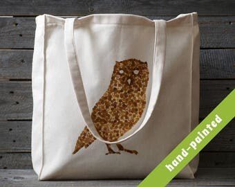 Owl Bag/ Owl Tote Bag/ Owl Art/ Canvas Tote Bag/ Canvas Bag / Owl Tote/ owl gifts/ owls/ Cotton Tote/ Market Bag/ Hand Bag/ Owl decor