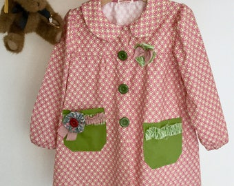 School apron, apron, apron kindergarten kid. Smock, school smock