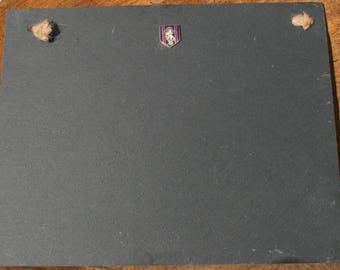 REME Shield Slate Chalk Board Messages, Lists , Tally Chart, Reminders Military Gift ME20