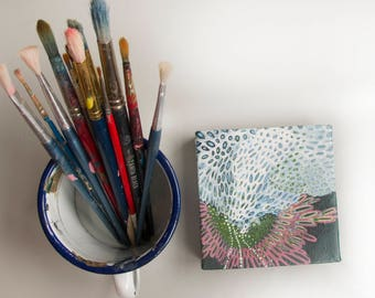 Tiny Abstract Painting