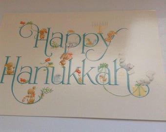 Hallmark Hanukkah card unused+env