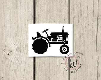Tractor Vinyl Decal-Style 01