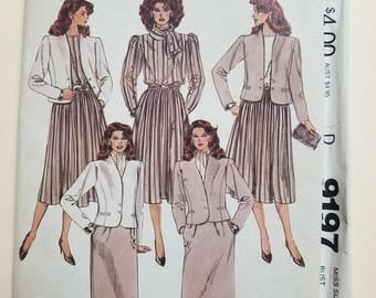 McCall's Pattern Size 12  #9197