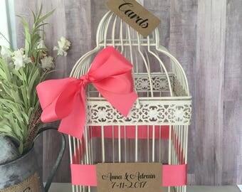 Wedding Card Bird Cage Wedding Shower Card Holder Card Cage