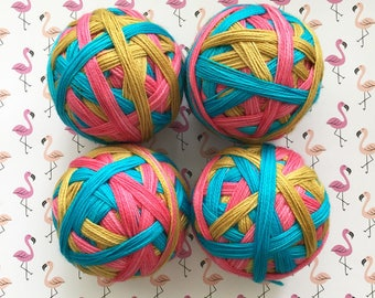 Ready to Ship: Nerds in Paradise - Hand Dyed Self-Striping Sock Yarn