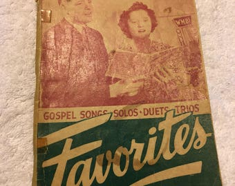 "Gospel Song Favorites ""Singspiration"" Series"
