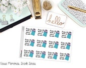 """SNARK SERIES: """"Lady in the Streets and Asleep in the Sheets"""" Paper Planner Stickers"""