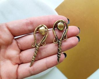 Bronze Earrings/earrings/Turkish Jewellery/bronze jewelry/nicer/special gift/Unique Jewelry