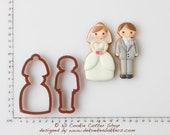 Wedding Couple Cookie Cutter Set