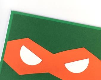 Michaelangelo Teenage Mutant Ninja Turtles card