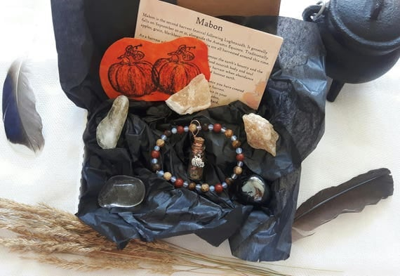 Mabon Spell Kit - Witchcraft Mabon Altar Kit