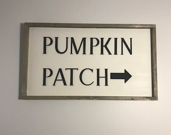 Laser Cut Sign. Pumpkin Patch  Laser Cut Sign. Autumn Home Decor. Stained Edge Sign. Fall Decor. Autmun Sign. Fall Sign. Fall Decor