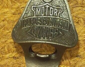 The 'Harley Davidson' Beer Bottle opener