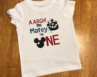 Pirate Mickey First Birthday