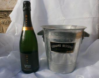 EDOUARD BESSERAT French champagne bucket, wine cooler flower vase, bar restaurant drinks cooler, alcohol, wine, ice bucket