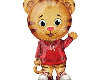 "One 31"" Xl DANIEL TIGER'S NEIGHBORHOOD  Birthday Party Balloons Decoration Supplies"