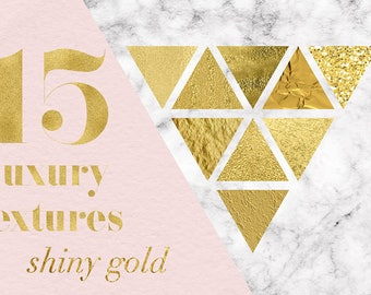 Luxury Gold Textures, Gold Foil Digital Paper, Elegant Gold Backgrounds, Perfect For Creating Texts, Patterns, Invites And More, BUY5FOR8
